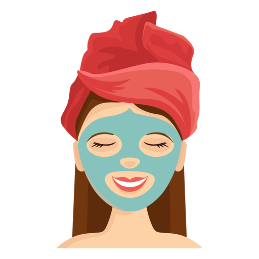 Face mask illustration Transparent PNG