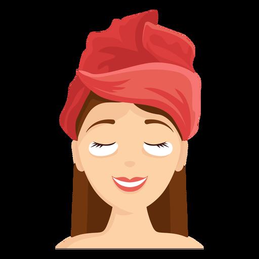 Máscara facial, toalha, ilustração Transparent PNG