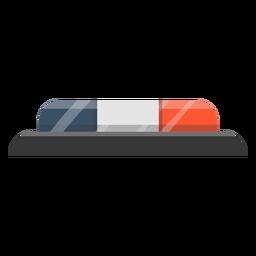 Ilustração de sirene de pisca-pisca