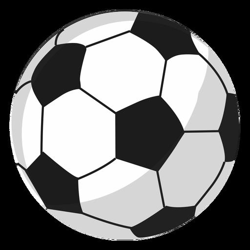 Ilustração de bola de futebol Transparent PNG