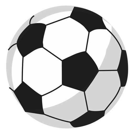 Ilustración de pelota de fútbol Transparent PNG