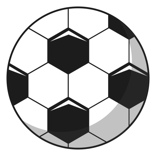 Football ball pentagon illustration Transparent PNG