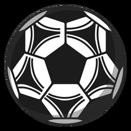 Ilustração de futebol pentágono de futebol