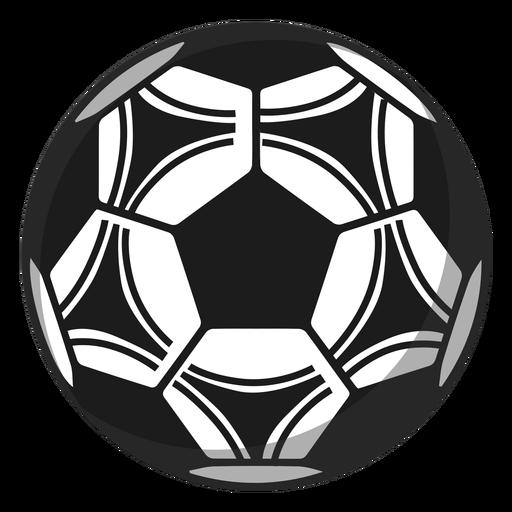 Ilustração de futebol pentágono de futebol Transparent PNG