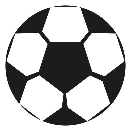Silhueta de futebol Transparent PNG