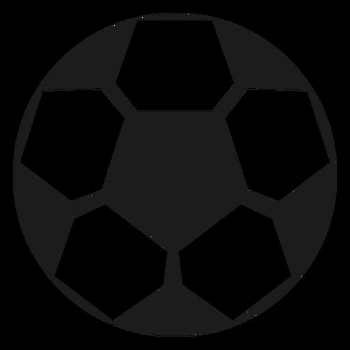 Silueta de futbol