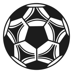Football soccer silhouette