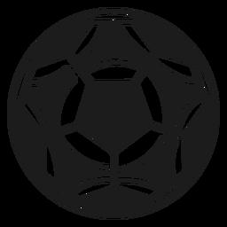 Silhueta de futebol