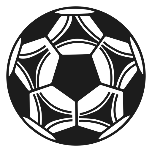 Football soccer silhouette Transparent PNG