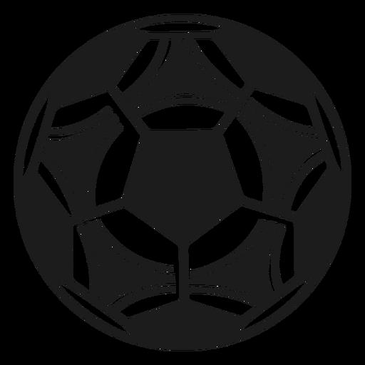 Silueta de futbol Transparent PNG