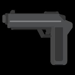 Waffe flach
