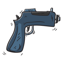 Gun weapon illustration