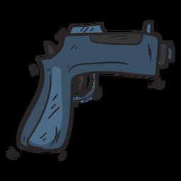 Ilustración de arma arma