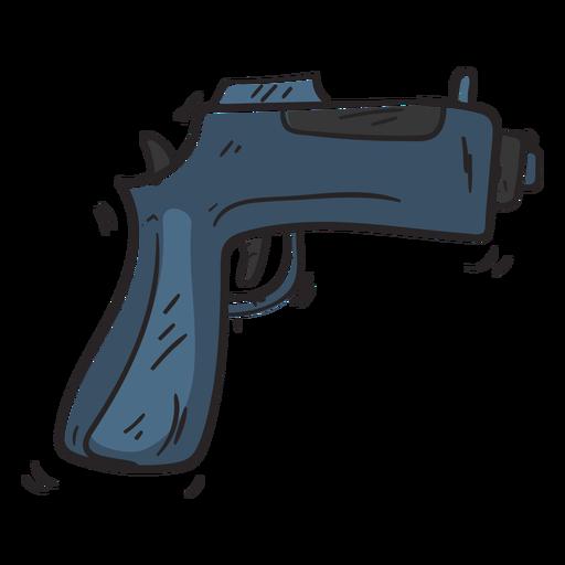 Gun weapon illustration Transparent PNG