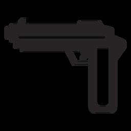Arma arma silueta
