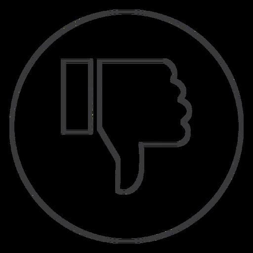 Handabneigung Daumen Zeichen Symbol Transparent PNG