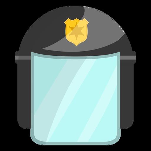 Ilustração de polícia de capacete Transparent PNG