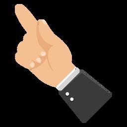 Zeigefingerhand-Ärmelillustration