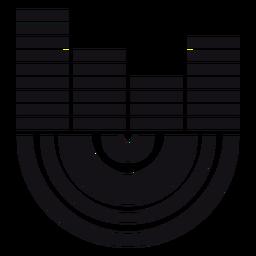 Indicator silhouette