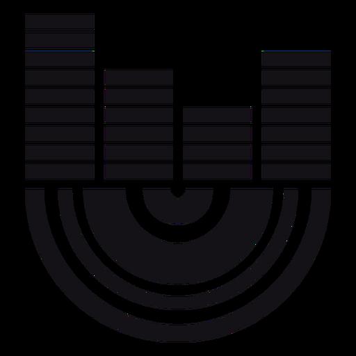 Silhueta do indicador Transparent PNG