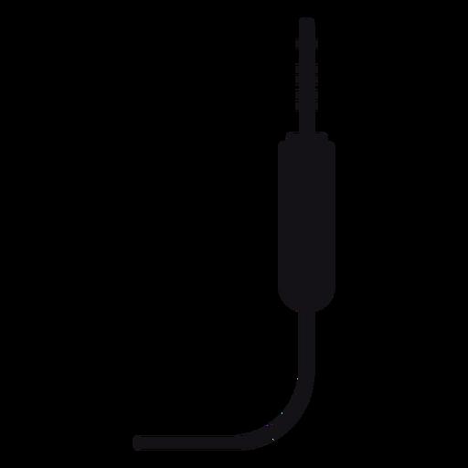 Jack plug silueta Transparent PNG