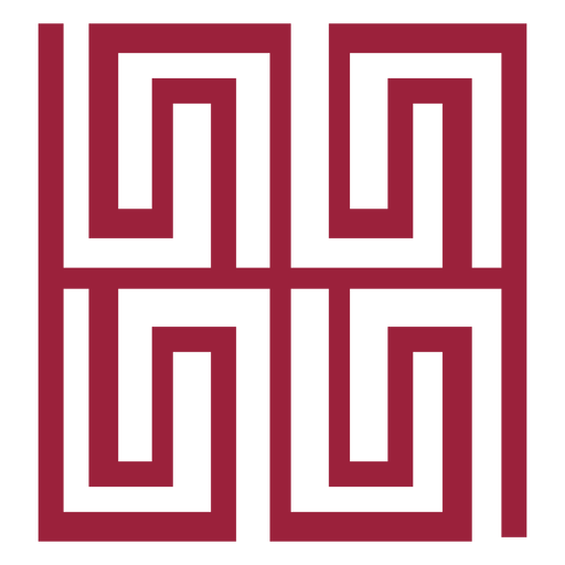 Labyrinth silhouette