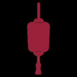 Silhueta de lanterna