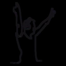 Lineal dj contorno