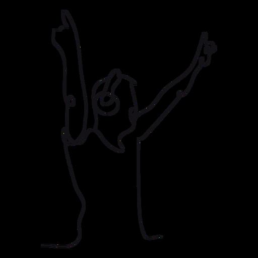 Linear dj outline Transparent PNG