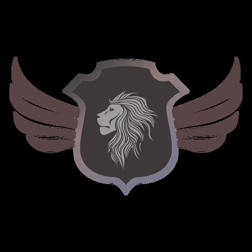 Logotipo de la insignia del león logotipo heráldica Transparent PNG