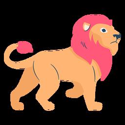 Löwe flach