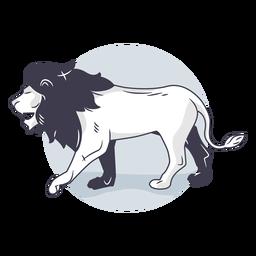 Ilustração de leão