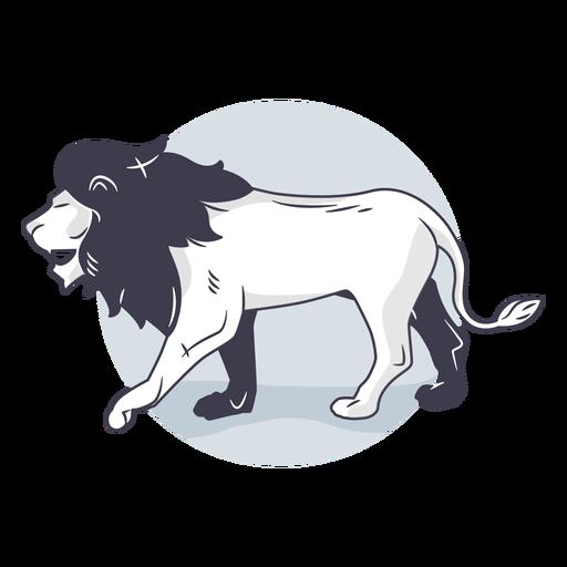 Lion illustration Transparent PNG