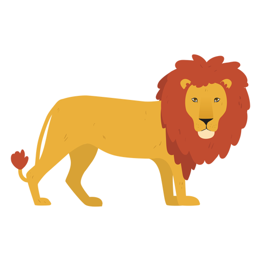 Lion king illustration Transparent PNG