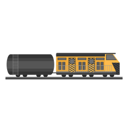 Ilustração de tanque locomotiva