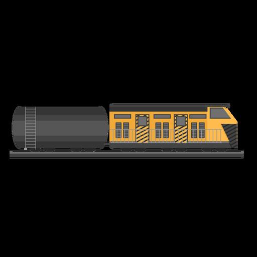Ilustração de tanque locomotiva Transparent PNG