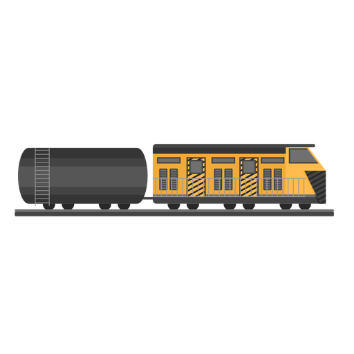 Locomotive tank illustration Transparent PNG
