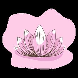 Ilustración de loto