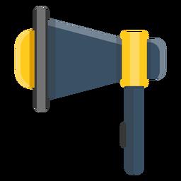 Ilustración de altavoz megáfono