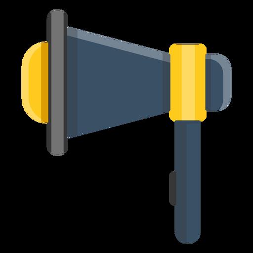 Ilustração de alto-falante de megafone Transparent PNG