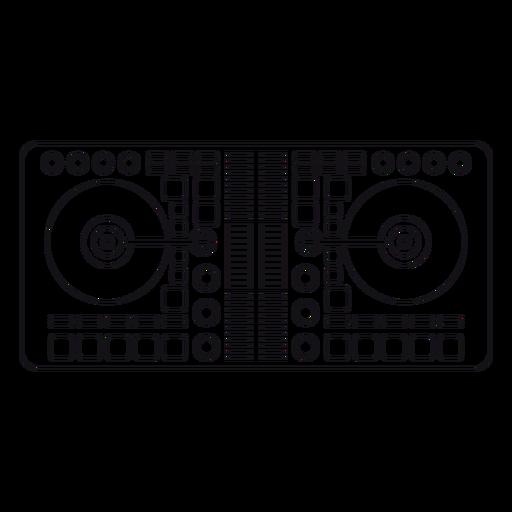 Mixer record Transparent PNG