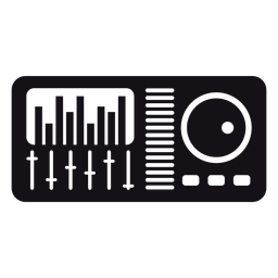 Mixer silhouette