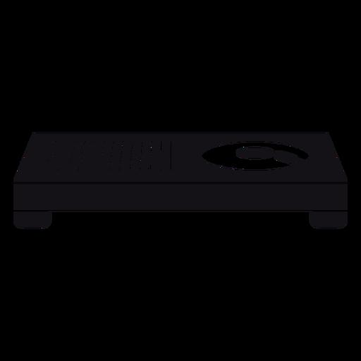 Mixer silhouette design Transparent PNG