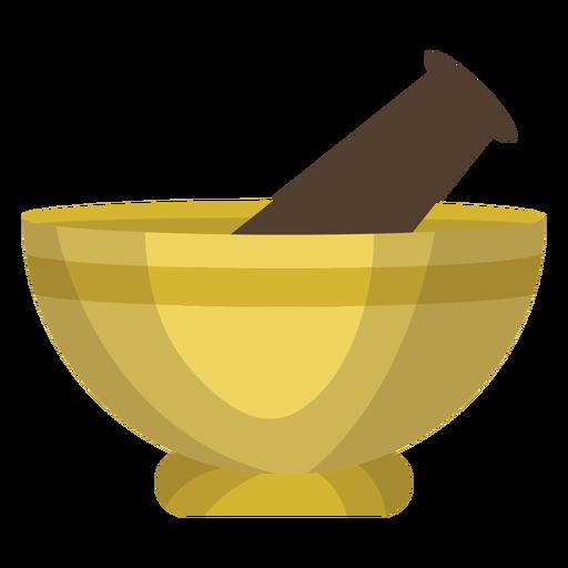Ilustração de pilão de argamassa Transparent PNG
