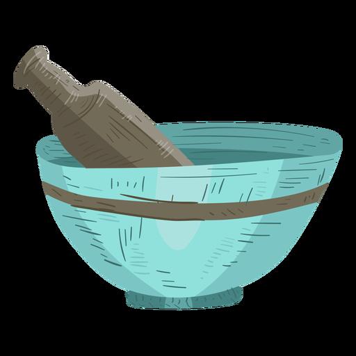 Ilustração de pó de pilão de argamassa Transparent PNG