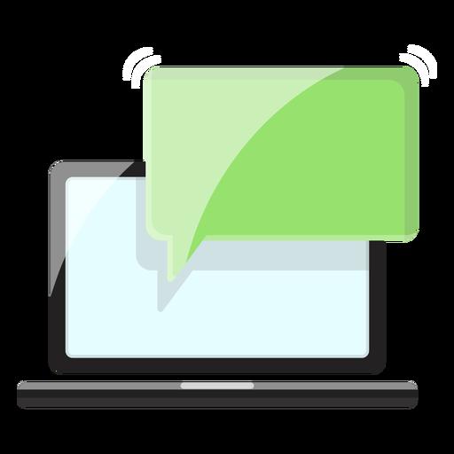 Ilustración de mensaje de cuaderno Transparent PNG