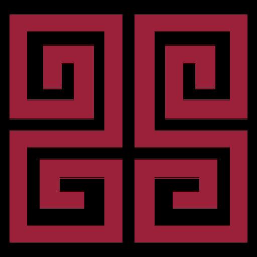 Pattern labyrinth maze silhouette