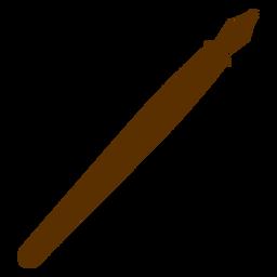 Silhueta de caneta