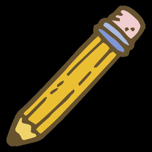 Pencil flat Transparent PNG