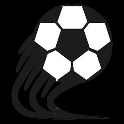 Silueta de fútbol del pentágono